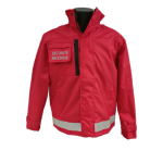 Parka/blouson RV SECURITE rouge