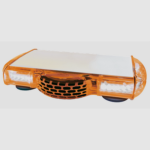 Mini rampe orange à LED VEGA <br>Magnétique - Allume cigare